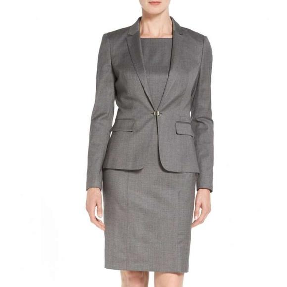 2cfecdb60fe NWT BOSS Jaflink Stretch Wool Suit Jacket